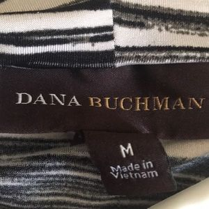 Dana Buchman Tops - Dana Bachman Polyester spandex stripped tank top
